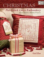 Christmas-Patchwork loves Embroidery
