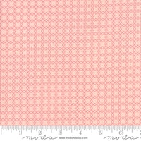 Bloomington - Rosa med firkanter