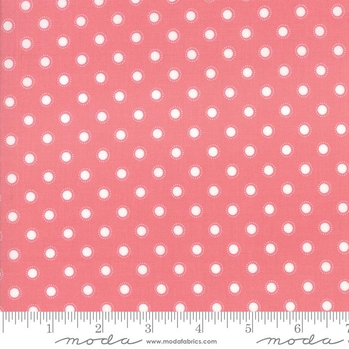 Bloomington - Rosa med hvite prikker
