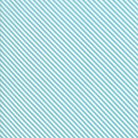 Bloomington - Turkis med hvite striper