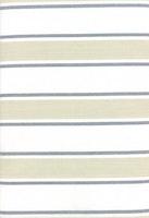 Toweling-krem/hvit me grå striper