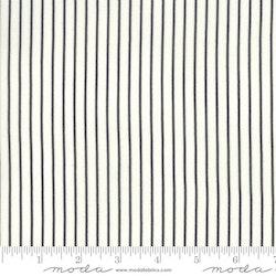 Fine and Sunny- hvit med svarte striper