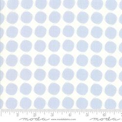 Fine and Sunny- hvit med blå bomber
