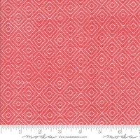 Bonnie Camille wovens-lys rød  med ruter