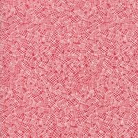 Bramble- rød med hvitt mønster