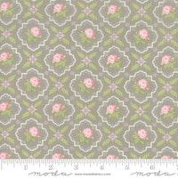 Finnegan Pebble - brun med rosa blomster