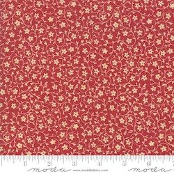 Le Beau Papillon - rød små blomsterranker