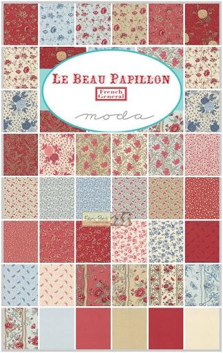 Le Beau Papillon - Layer Cake-10 inch