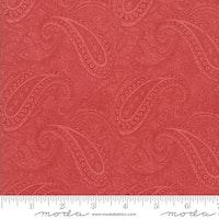 Porcelain Rose - rød med paisley