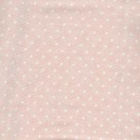 Poetry Prints-rosa med hvite prikker