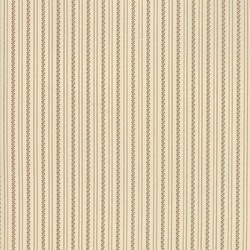 Jo Shirtings-krem med svart stripe mønster