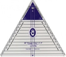 Triangle Ruler 60gr. 9inch.