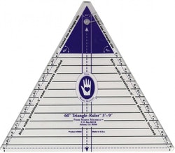 Triangle linjal  60gr. 9inch.