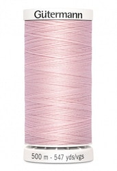 Gutermann col.659 lys rosa -500