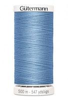 Gutermann col.143 mellomblå -500m