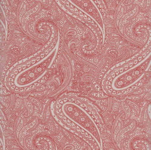 Snowberry Prints- rød med paisley