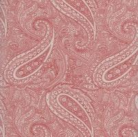 Snowberry Prints- rød med paisley