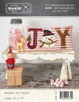 holliday Joy pillow