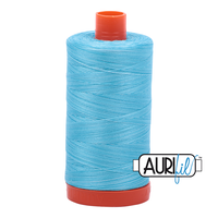 Aurifil - 4663/50 Baby Blue Eyes - Flerfarget