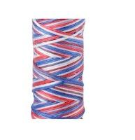 Aurifil- 3852/12 Liberty  flerfarget rødthvittblått