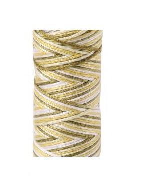 Aurifil - 4653/12 Olive Green flerfarget