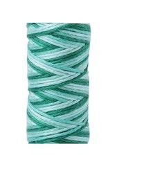 Aurifil - 4662/12  Creme de Menthe  flerfarget klargrønn