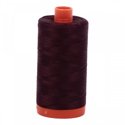 Aurifil-2465/50-Very Dark Brown