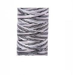 Aurifil - 4652/12 Licorice Twist - flerfarget