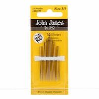 Milliners size 3/9 John James nåler
