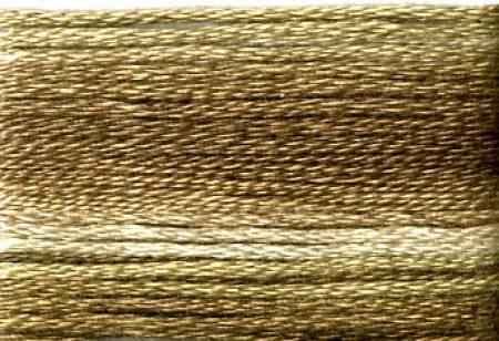 Farge 8040- Cosmo Seasons Variegated Embroidery Floss Dark Browns