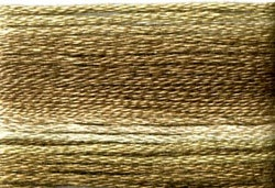 Farge 8040- Cosmo Seasons Variegated Embroidery Floss Dark Browns
