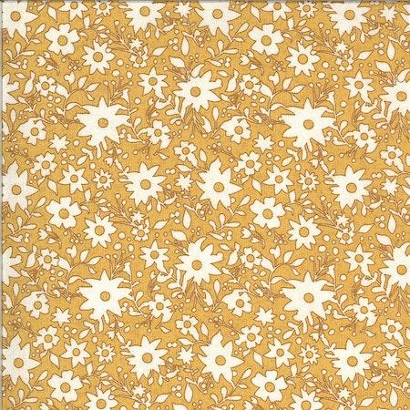 Cider-gul med hvite blomster