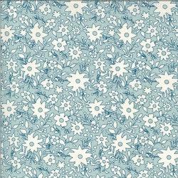 Cider-Lys blå med hvite blomster
