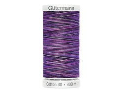 4033 Sulky Gûtermann Cotton 30, 300m- Lilla flerfarget