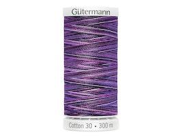 4033 Sulky Gûtermann Cotton 30, 300m- Lilla flerfarget