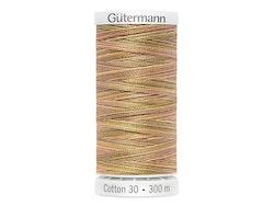 4091  Sulky Gûtermann Cotton 30, 300m-lys brun flerfarget