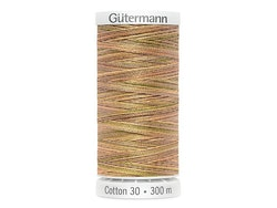 4091  Sulky Gûtermann Cotton 30, 300m-lys brun flerfarget