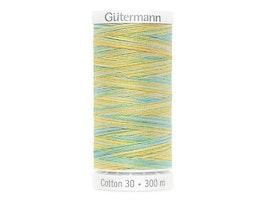 4013  Sulky Gûtermann Cotton 30, 300m-grønn flerfarget