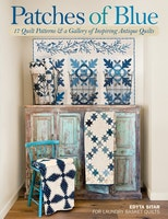 Patches of Blue- fra Laundry Basket Quilts