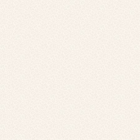 Ivory Crescent Swirl-hvit