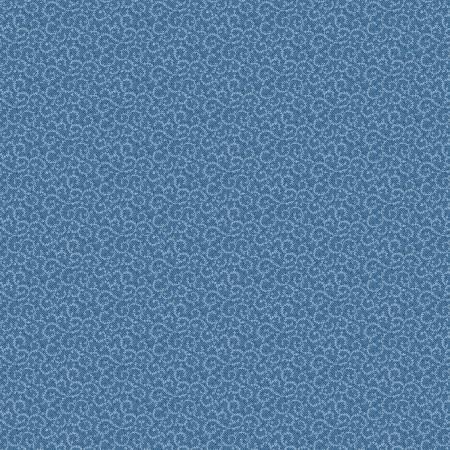 Denim Blue Crescent Swirl-blå