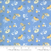 Spring Brook Bluebonnet-lys blå med gule blomster
