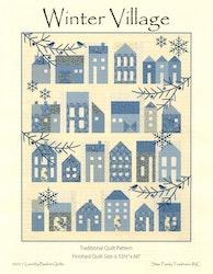 Winter Village- Laundry Basket Quilts