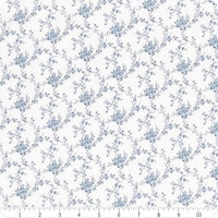 Indigo Garden- Light Slate Tiny Floral