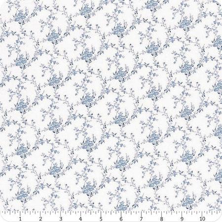Indigo Garden- Light Slate Tiny Floral