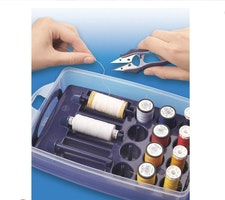 Prym -Click box with sorting insert for sewing threads