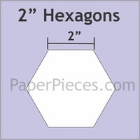Hexagon -2 inch