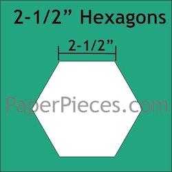 Hexagon - 2 1/2 inch