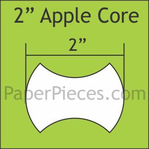 2 inch Apple Core
