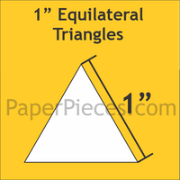 Equilateral Triangle- 1 inch